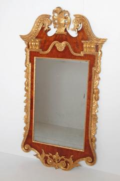 Period George II Pier Glass with Bookmatched Walnut Veneers - 2006857