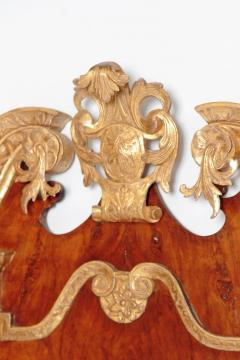 Period George II Pier Glass with Bookmatched Walnut Veneers - 2006858