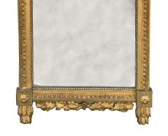 Period Louis XVI 18th Century French Giltwood Louis XVI Mirror with Lyre - 1159669