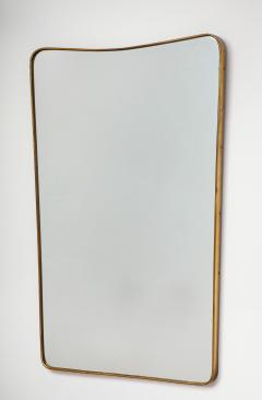 Period Mid Century Modern Mirror in the Style of Gio Ponti Italy 1950 s - 1138104
