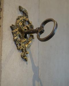 Period Rococo Cabinet with Original Hardware - 513442