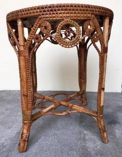Perret et Vibert Rattan garden furniture set by Maison Perret Vibert second half of XIX Century - 1130744