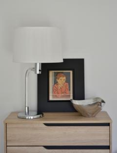 Peter Hamburger Mid Century Lucite Table Lamp - 1015502