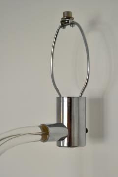 Peter Hamburger Mid Century Lucite Table Lamp - 1015507