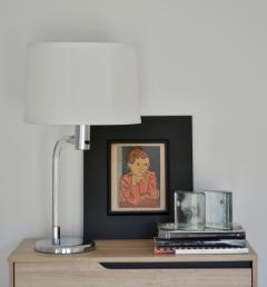 Peter Hamburger Mid Century Lucite Table Lamp - 1015518