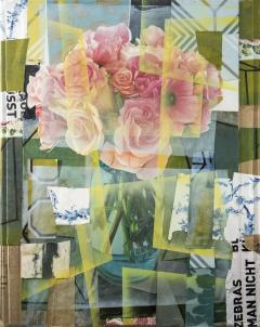 Peter Hoffer Arrangement With Pink Roses - 1196017