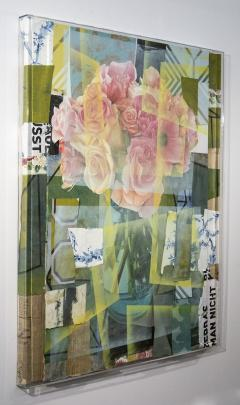 Peter Hoffer Arrangement With Pink Roses - 1196018