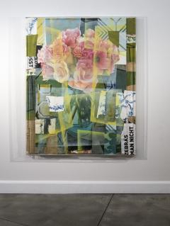 Peter Hoffer Arrangement With Pink Roses - 1196019