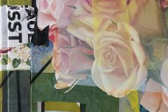Peter Hoffer Arrangement With Pink Roses - 1196021