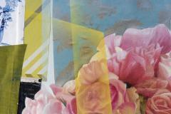 Peter Hoffer Arrangement With Pink Roses - 1196022