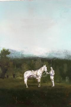 Peter Hoffer Horse and Rider - 1216130