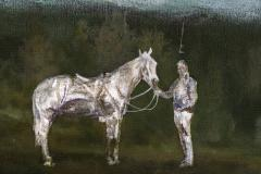 Peter Hoffer Horse and Rider - 1216132