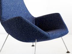 Peter Hoyte Peter Hoyte Lounge Chair in Blue Raf Simons Boucl Fabric United Kingdom 1960s - 823383