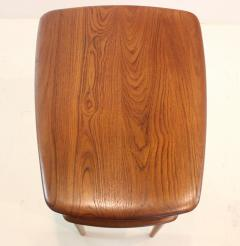 Peter Hvidt Pair of Scandinavian Modern Solid Teak Minerva Side Tables by Peter Hvidt - 1439062