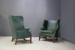 Peter Hvidt Pair of armchairs by Peter Hvidt Orla M lgaard Nielsen Wingback Chair - 1077892