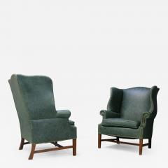 Peter Hvidt Pair of armchairs by Peter Hvidt Orla M lgaard Nielsen Wingback Chair - 1078790