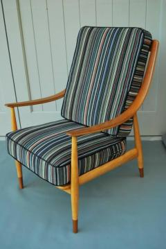 Peter Hvidt Peter Hvidt Tall Back Easy Chair 1960s - 1679651
