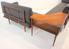 Peter Hvidt Scandinavian Modern Minerva Living Room Suite Designed by Peter Hvidt - 1439051