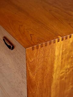 Peter Hvidt Scandinavian Modern Solid Teak Chest Desk Designed by Peter Hvidt - 2012426