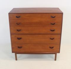 Peter Hvidt Scandinavian Modern Solid Teak Dresser Designed by Peter Hvidt - 1739982