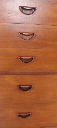 Peter Hvidt Scandinavian Modern Solid Teak Dresser Designed by Peter Hvidt - 1739984