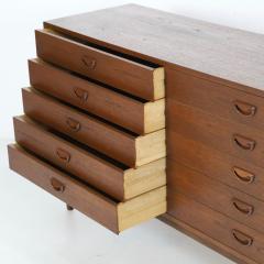 Peter Hvidt Scandinavian Modern Ten Drawer Dresser Designed by Peter Hvidt - 2132312
