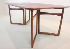 Peter Hvidt Solid Teak Scandinavian Modern Dining Table Designed by Peter Hvidt - 1664407
