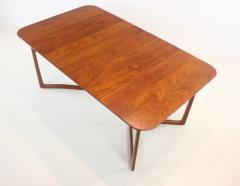 Peter Hvidt Solid Teak Scandinavian Modern Dining Table Designed by Peter Hvidt - 1664408