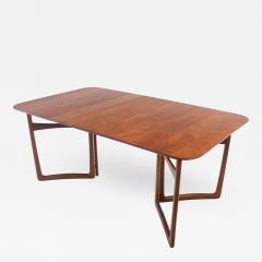 Peter Hvidt Solid Teak Scandinavian Modern Dining Table Designed by Peter Hvidt - 1666619