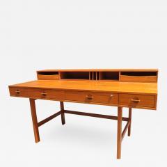 Peter L vig Nielsen Mid Century Teak Flip Top Desk by Peter L vig Nielsen - 1523083