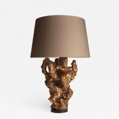 Peter Lane Peter Lane Moongold Rock Scholar Lamp pair available  - 665125