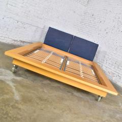 Peter Maly Ligne roset parallele european king size platform bed attributed to peter maly - 1881707