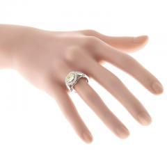 Peter Suchy Peter Suchy 1 12 Carat Light Natural Yellow Diamond Platinum Engagement Ring - 408294