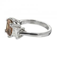 Peter Suchy Peter Suchy 2 14 Carat Dark Brown Diamond Platinum Engagement Ring - 407610