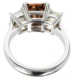 Peter Suchy Peter Suchy 2 14 Carat Dark Brown Diamond Platinum Engagement Ring - 407612
