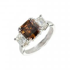 Peter Suchy Peter Suchy 2 14 Carat Dark Brown Diamond Platinum Engagement Ring - 554710