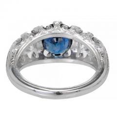 Peter Suchy Peter Suchy 2 30 Carat Natural Sapphire Diamond Platinum Engagement Ring - 391030