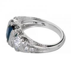 Peter Suchy Peter Suchy 2 30 Carat Natural Sapphire Diamond Platinum Engagement Ring - 391032