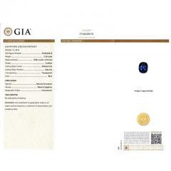 Peter Suchy Peter Suchy 2 30 Carat Natural Sapphire Diamond Platinum Engagement Ring - 391034