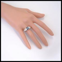 Peter Suchy Peter Suchy 2 30 Carat Natural Sapphire Diamond Platinum Engagement Ring - 391036