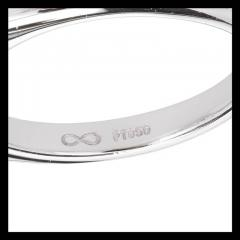 Peter Suchy Peter Suchy 2 56 Carat Sapphire Diamond Platinum Three Stone Engagement Ring - 394517