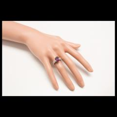 Peter Suchy Peter Suchy GIA Certified 2 68 Carat Cushion Ruby Diamond Platinum Engagement - 389625