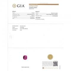 Peter Suchy Peter Suchy GIA Certified Padparadscha Sapphire Diamond Platinum Engagement Ring - 308546