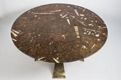 Peter Van Heeck Bronze Gueridon By Peter Van Heeck - 895828