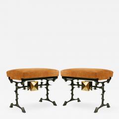 Peter Van Heeck Pair of stools - 732054