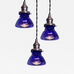 Petite Cobalt Blue Mercury Glass Pendent - 532627