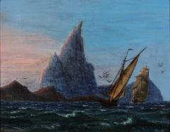 Petite Danish Seascape - 1891417