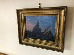 Petite Danish Seascape - 1891421