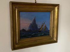 Petite Danish Seascape - 1891430