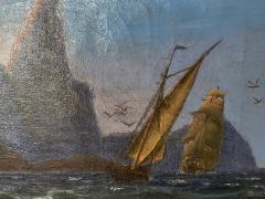 Petite Danish Seascape - 1891431